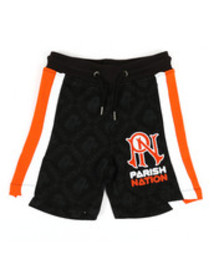 Parish shorts w/ graphic (2t-4t)
