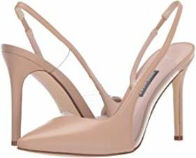 Nine West Toffee Pointed Toe Slingback Pump