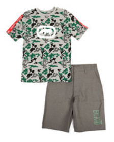 Ecko 2pc tee & shorts set (8-20)