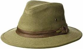 Stetson Washed Pigment Dyed Canvas Safari