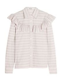 MIU MIU - Striped shirt