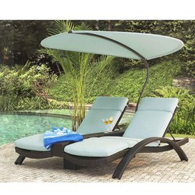 Barlyne Reclining Chaise Lounge with Cushion