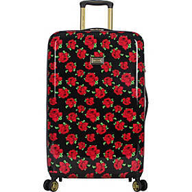 "BETSEY JOHNSON Covered Roses 26"" Hardside Checked"