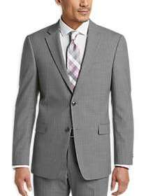 Tommy Hilfiger Gray Pinstripe Slim Fit Suit