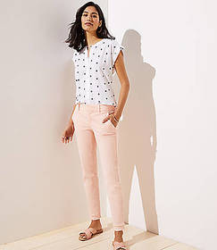 Double Frayed Girlfriend Chinos