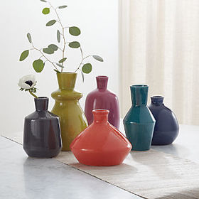Crate Barrel New Mireya Vases