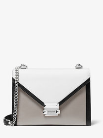 Michael Kors Whitney Large Tri-Color Leather Conve