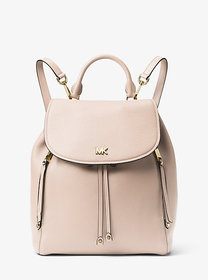 Michael Kors Evie Medium Leather Backpack