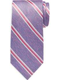 Nautica Pink Stripe Narrow Tie