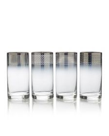 Mikasa Ombre Set of 4 Highball Glasses