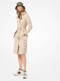 Michael Kors Sateen Trench Coat