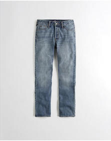 Hollister High-Rise Vintage Straight Ankle Jeans,