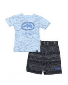 Ecko 2pc tee & shorts set (4-7)