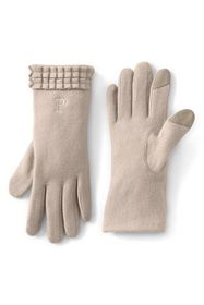 Lands End Women's Wool EZ Touch Texting Gloves