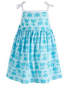 First Impressions Baby Girls Printed Sundress, Cre
