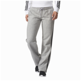 adidas Athletics 3-Stripes Cotton Open Hem Pants
