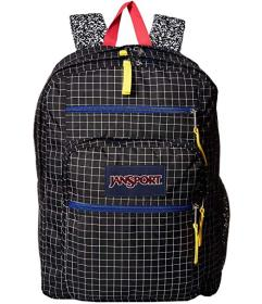 JanSport Black Grid
