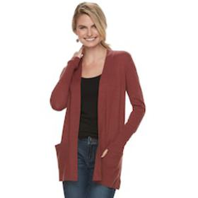 Women's SONOMA Goods for Life™ Ribbed Cardigan
