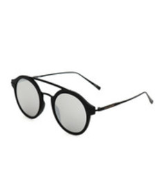 Steve Madden round w/ metal brow bar sunglasses