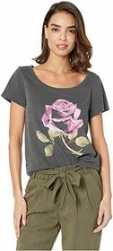 Lucky Brand Rose Tee
