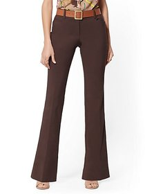 Mid Rise Bootcut Pant - All-Season Stretch - 7th A