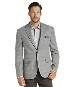 Jos Bank Reserve Collection Tailored Fit Plaid Cas