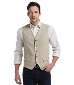 Jos Bank Reserve Collection Tailored Fit Vest CLEA