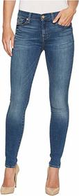 7 For All Mankind Skinny Jeans w/ Squiggle in Rich