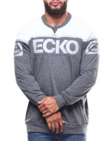 Ecko knockout l/s crew (b&t)