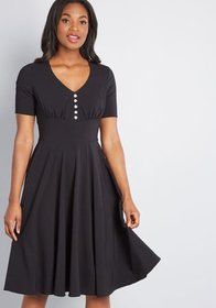 Hell Bunny Hell Bunny Sway With Me A-Line Dress in