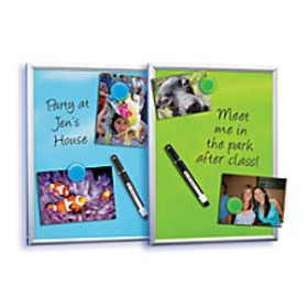 FORAY Magnetic Dry Erase Board 8 on sale at Office Depot