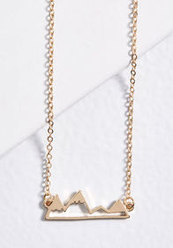 Change of Scenery Necklace Gold