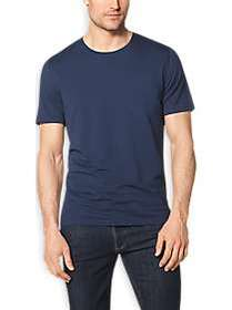 Tommy John Second Skin Essential Blue Crew Neck T-
