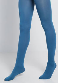 Accent Your Ensemble Tights teal