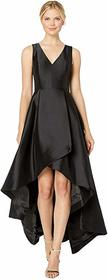 Calvin Klein High-Low V-Neck Gown CD7B144P