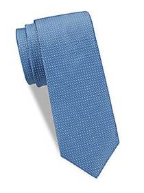 Saks Fifth Avenue Made in Italy Two-Tone Silk Tie