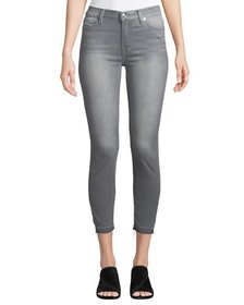 7 For All Mankind Gwenevere Released-Hem Skinny An