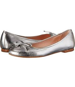 Kate Spade New York Silver Metallic Nappa