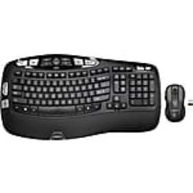 Logitech MK550 Optical Wireless Desktop Wave Keybo