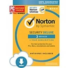 Norton Security Deluxe, 3 Devices with Norton Util
