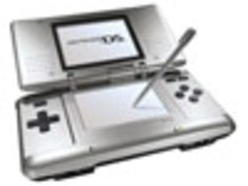 Nintendo DS System - Silver/Black (ReCharged Refur