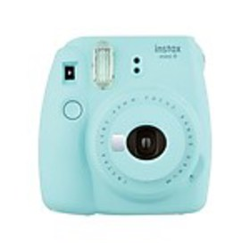 Fujifilm Instax Mini 9 Instant Camera, Ice Blue