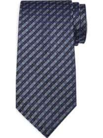Calvin Klein Black Mini Check Narrow Tie