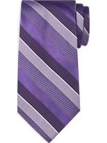 Calvin Klein Purple Stripe Narrow Tie