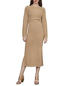 BCBGMAXAZRIA Knit 2-Piece Sweater Dress SAHARA