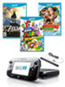 Wii U 32GB Nintendo Heroes Blast from the Past Sys