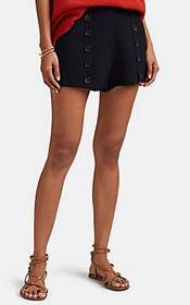 A.L.C. Issac Button-Detailed High-Rise Shorts