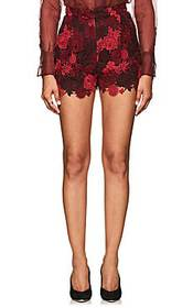 Valentino Floral Guipure Lace Shorts