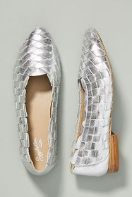 Anthropologie Seychelles Alternative Woven Flats