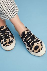 Anthropologie Superga Velvet Sneakers